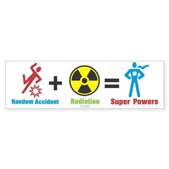 Super Powers Bumper Sticker