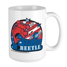 Angry Sarge Red, White, and B Large Mug
