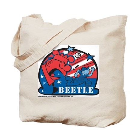 Angry Sarge Red, White, and B Tote Bag