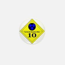 Psychic Hazard 10 Mini Button