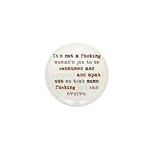 A Woman's Job (Color) Mini Button (100 pack)