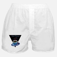 The Planet Coffee House Boxer Shorts