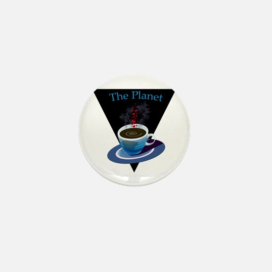 The Planet Coffee House Mini Button