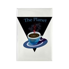 The Planet Coffee House Rectangle Magnet