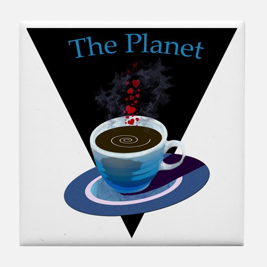 The Planet Coffee House Tile Coaster