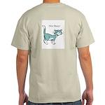 Nice Pussy! Ash Grey T-Shirt