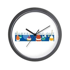 Buoys Night Out Wall Clock