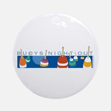Buoys Night Out Ornament (Round)