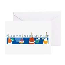 Buoys Night Out Greeting Card