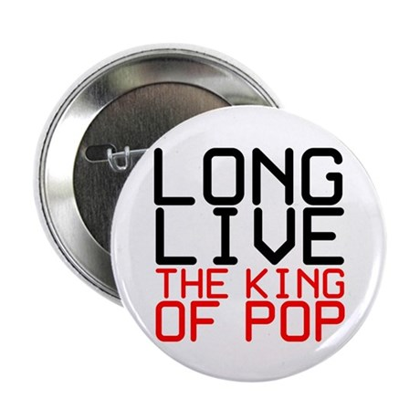 """King of Pop 2.25"""" Button (10 pack)"""