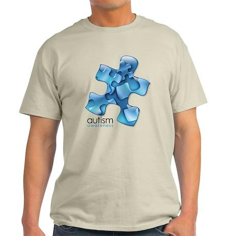 PuzzlesPuzzle (Blue) Light T-Shirt