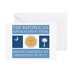 Appalachian Argentina Greeting Card