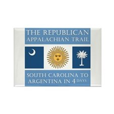 Appalachian Argentina Rectangle Magnet