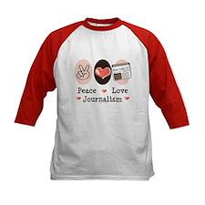 Peace Love Journalism Tee