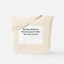 Funny Police officer humor Tote Bag