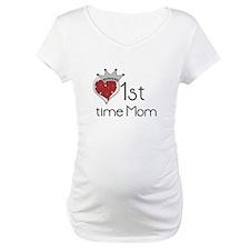 Princess 1st Time Mom Shirt