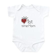 Princess 1st Time Mom Infant Bodysuit