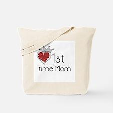 Princess 1st Time Mom Tote Bag