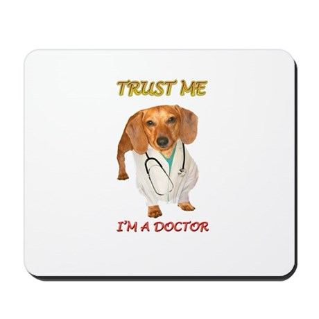 Doc Doxie Mousepad