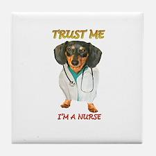 Nurse Dox Tile Coaster