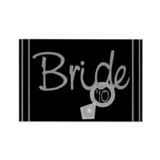 Bride '10 (ring) Rectangle Magnet