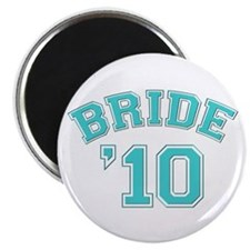 Bride '10 (sporty) Magnet