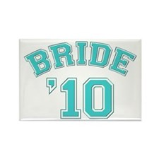Bride '10 (sporty) Rectangle Magnet