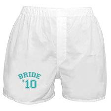 Bride '10 (sporty) Boxer Shorts