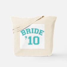 Bride '10 (sporty) Tote Bag
