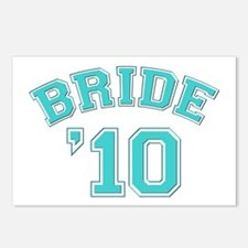 Bride '10 (sporty) Postcards (Package of 8)