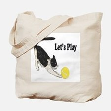 Lets Play Tote Bag