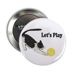 """Lets Play 2.25"""" Button (100 pack)"""