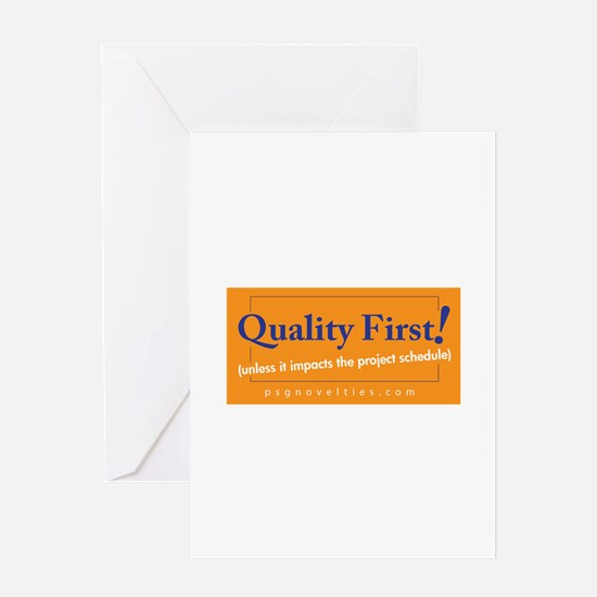 Cute Six sigma six sigma Greeting Card