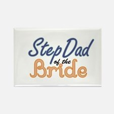 Step Dad of the Bride Rectangle Magnet