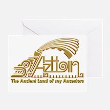 Aztlan-1 Greeting Card