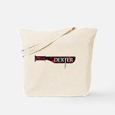 Dexter Black Blade Tote Bag