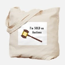 I'm Sold on Auctions Tote Bag