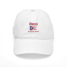 Ohio Buckeye State Baseball Cap