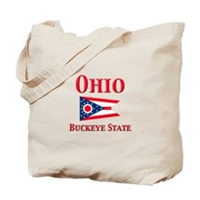 Ohio Buckeye State Tote Bag