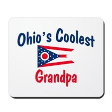 Coolest Ohio Grandpa Mousepad