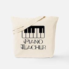 Piano Music Teacher Tote Bag