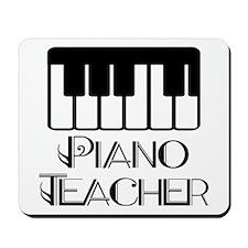Piano Music Teacher Mousepad