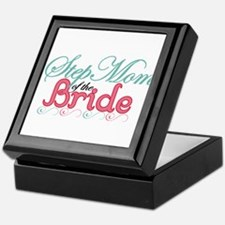 Step Mom of the Bride Keepsake Box