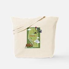 Alberta Map Tote Bag