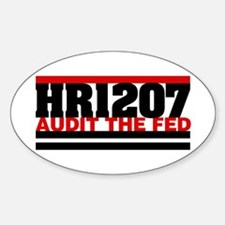 HR1207 Oval Decal