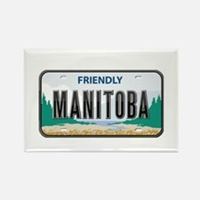 Manitoba Plate Rectangle Magnet
