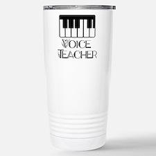Voice Teacher Stainless Steel Travel Mug