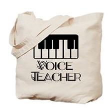 Voice Teacher Tote Bag