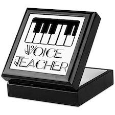 Voice Teacher Keepsake Box