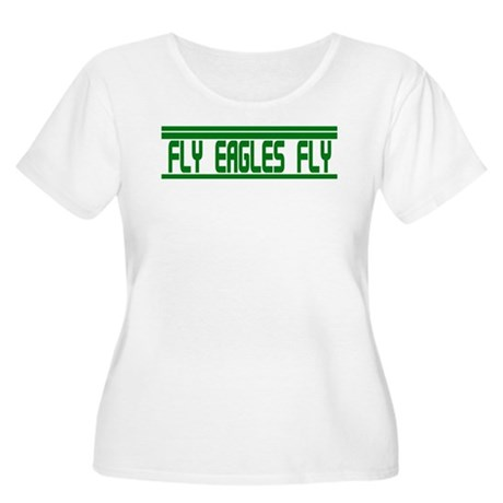 Fly Eagles Fly! Women's Plus Size Scoop Neck T-Shi